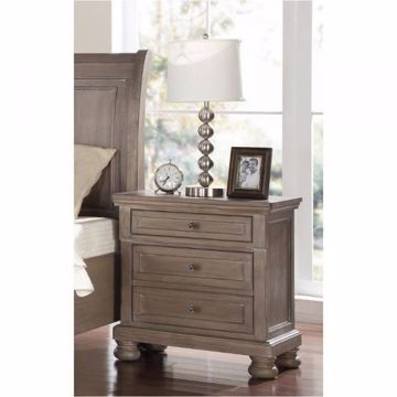 Picture of ALLEGRA THREE DRAWER NIGHTSTAND