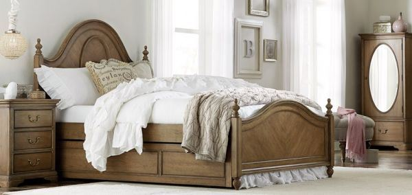 Picture of DANIELLE THREE DRAWER  NIGHTSTAND