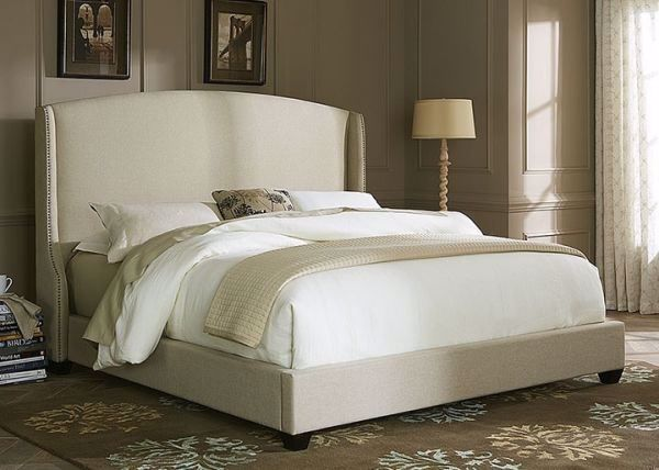 Picture of KING WING SHELTER UPHOLSTERED BED