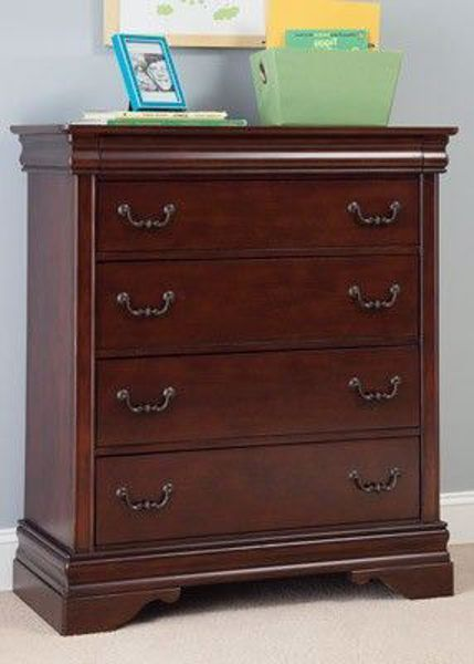 Picture of CARRIAGE COURT FIVE DRAWER CHEST