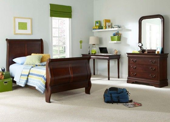 Picture of CARRIAGE COURT FULL SLEIGH BED