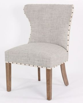 Picture of HANDCRAFT RAFFIA PARSON CHAIR
