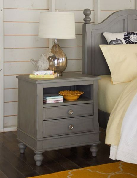 Picture of LAKE HOUSE TWO DRAWER NIGHTSTAND