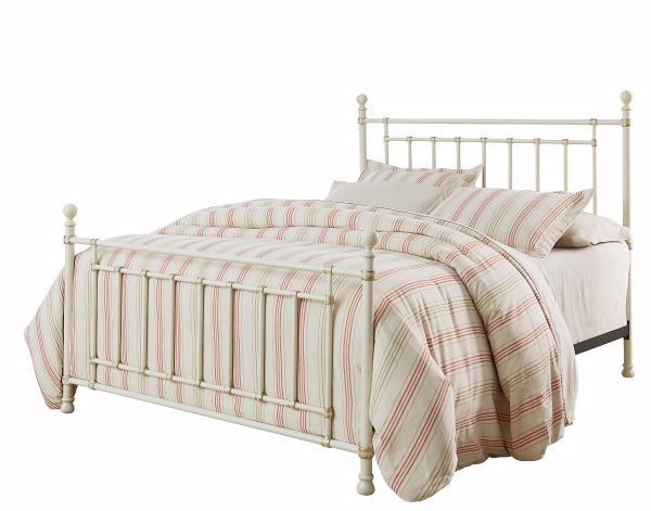 Picture of BENNINGTON KING METAL BED WHITE