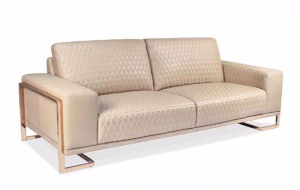 Peachy Sofa Gianna Leather Peach Pabps2019 Chair Design Images Pabps2019Com