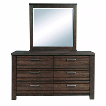 Picture of RUFF HEWN MIRROR
