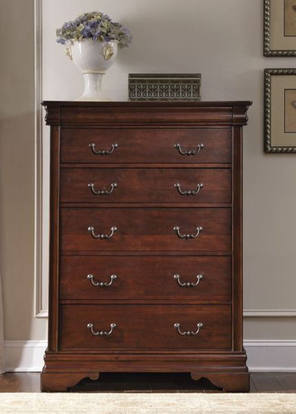 Picture of CARRIAGE COURT SIX DRAWER CHEST
