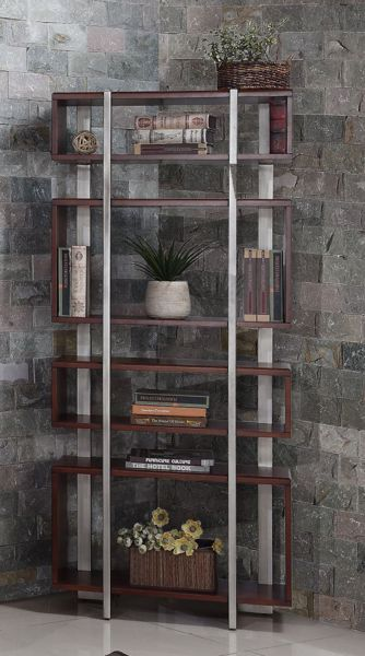 """Picture of AUSTERE ANTIQUES 32"""" ETAGERE BOOKCASE"""