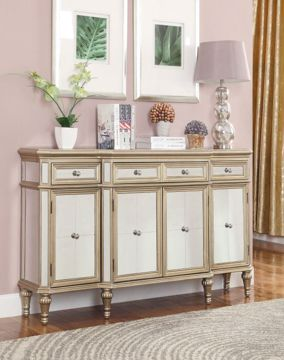 Picture of ESTALINE MIRRORED CREDENZA