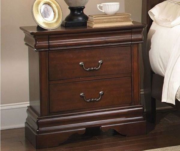Picture of CARRIAGE COURT TWO DRAWER NIGHTSTAND