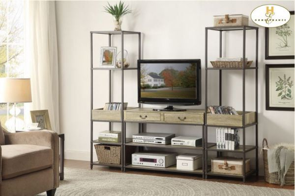 cheaper 417f3 09a4d RUMI TV STAND WITH SIDE PIERS