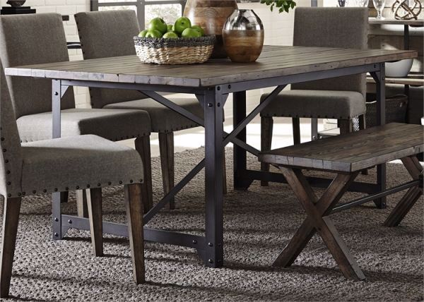 Picture of CALDWELL TRESTLE TABLE