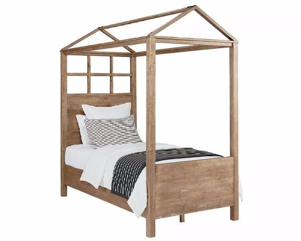 PLAYHOUSE TWIN CANOPY BED