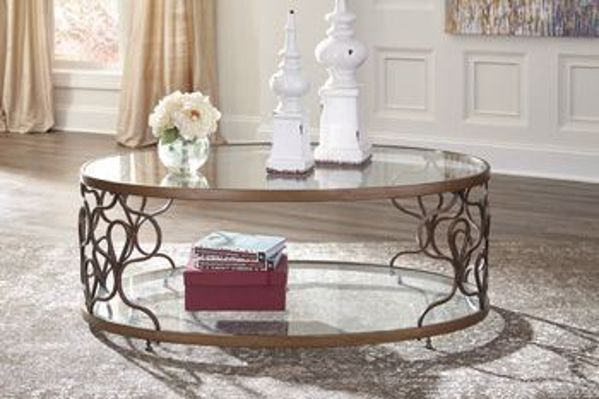 Picture of FRALONI OVAL COCKTAIL TABLE