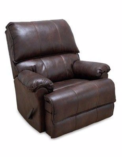 Picture of LUCAS ROCKER RECLINER CHOCOLATE