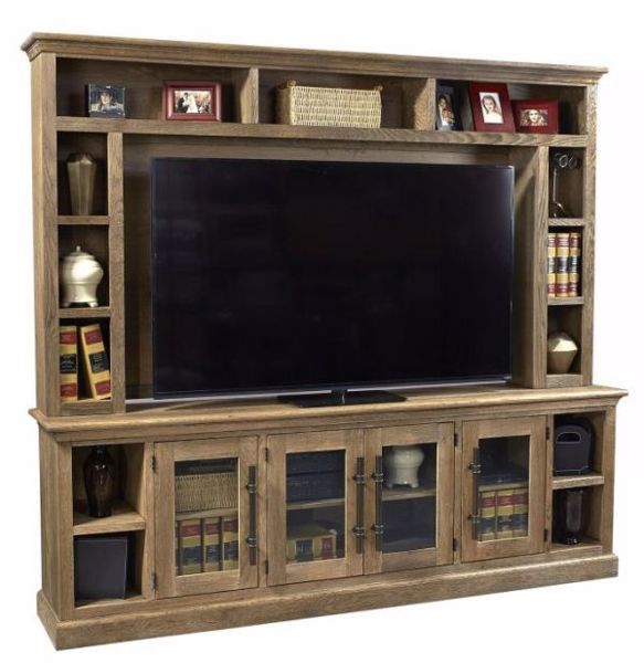 """Picture of MANCHESTER 97"""" CONSOLE AND HUTCH"""
