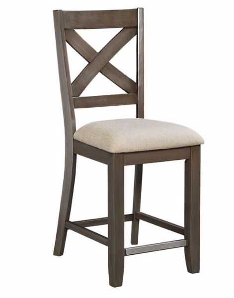Picture of OMAHA GREY COUNTER CHAIR