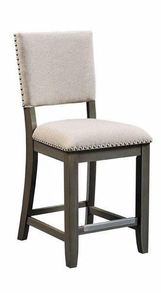 Picture of OMAHA GREY COUNTER BARSTOOL