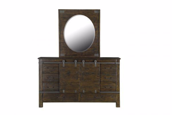 Picture of PINE HILL OVAL MIRROR