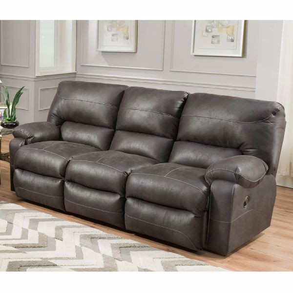 Sensational Vip Dual Power Reclining Sofa Unemploymentrelief Wooden Chair Designs For Living Room Unemploymentrelieforg