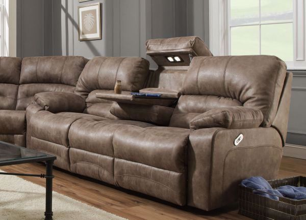 Picture of LEGACY RECLINING SOFA TAUPE