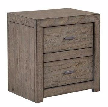 Picture of MODERN LOFT 2-DRAWER NIGHTSTAND
