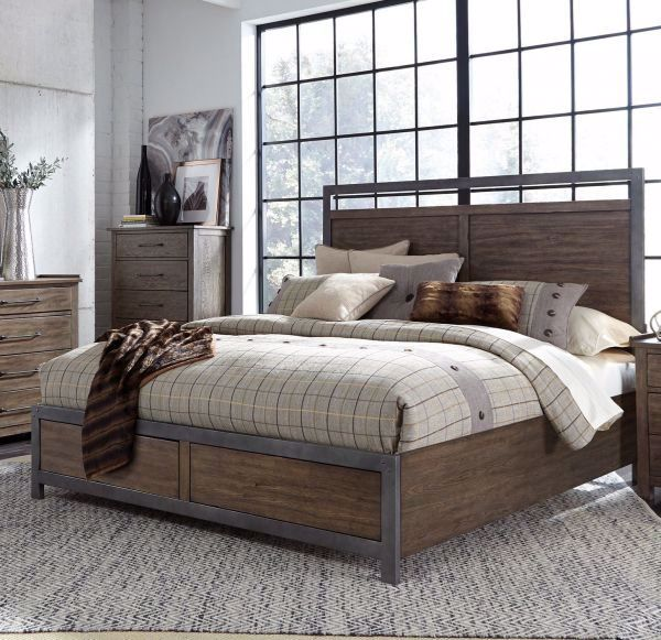 Picture of SONOMA ROAD KING PANEL BED