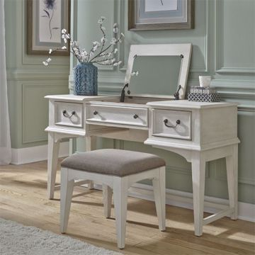 Picture of BAYSIDE VANITY DESK WITH STOOL
