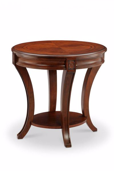 Picture of WINSLET OVAL END TABLE