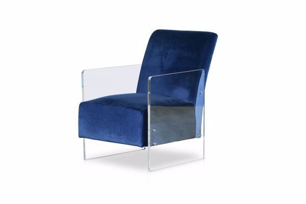 Picture of ANDREA ACCENT CHAIR BLUE