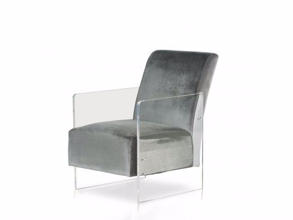 Picture of ANDREA ACCENT CHAIR GRAY