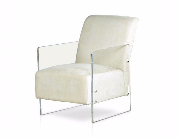 Picture of ANDREA ACCENT CHAIR IVORY