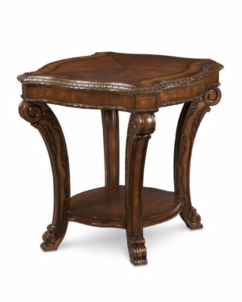 Picture of OLD WORLD END TABLE