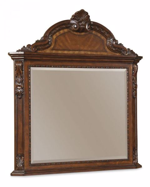 Picture of OLD WORLD CROWNED MIRROR