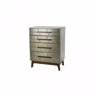 Picture of INDUSTRIAL 4-DRAWER ACCENT CHEST