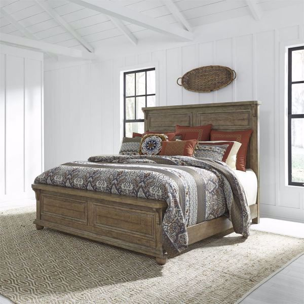 Picture of HARVEST HOME KING PANEL BED