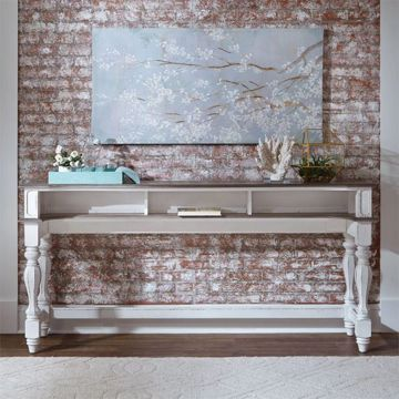 Picture of MAGNOLIA MANOR SOFA TABLE BAR