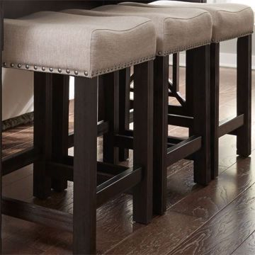 Picture of HEATHERBROOK UPHOLSTERED BAR STOOL