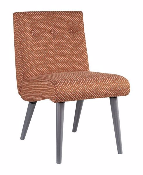Picture of ZITTAN ACCENT CHAIR PAPAYA