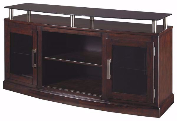 Picture of CHANCEEN TV STAND WITH FIREPLACE INSERT