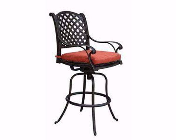 Picture of CASTLE ROCK BARSTOOL W/CUSHION