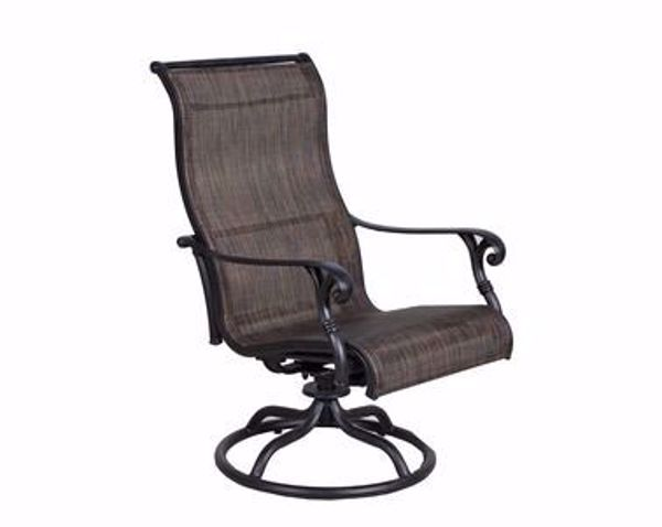 Picture of CASTLE ROCK SLING SWIVEL CHAIR