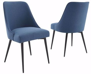 Picture of COLFAX SIDE CHAIR NAVY