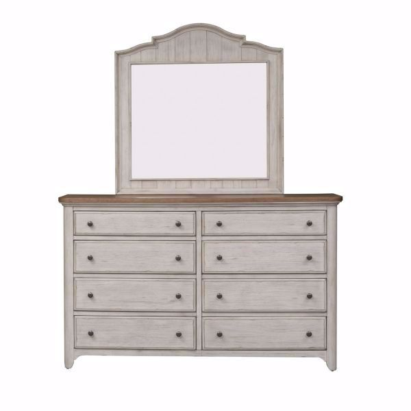 Picture of FARMHOUSE DRESSER & MIRROR