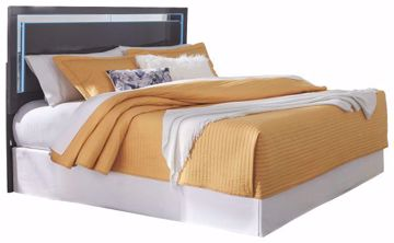 Picture of STEELSON KING PANEL BED