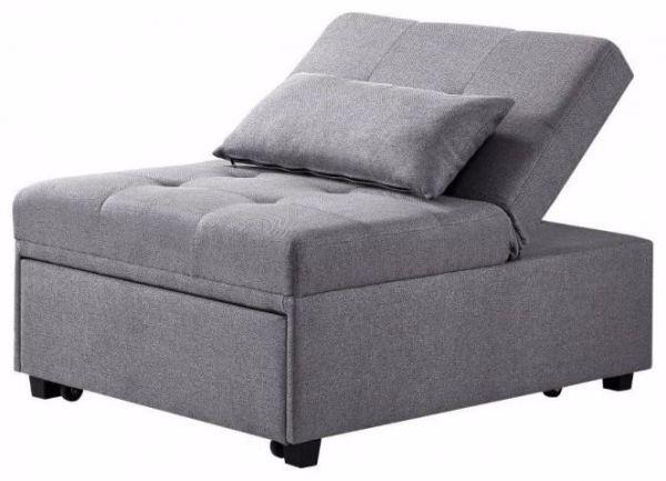 Fantastic Dozer Convertible Chair Grey Inzonedesignstudio Interior Chair Design Inzonedesignstudiocom