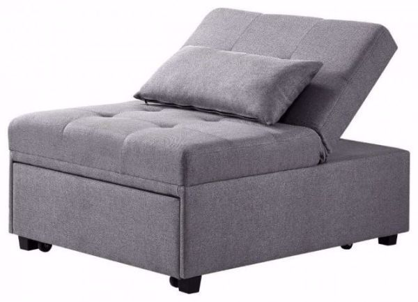 Picture of DOZER CONVERTIBLE CHAIR GREY
