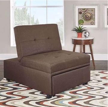 Picture of DOZER CONVERTBLE CHAIR BROWN