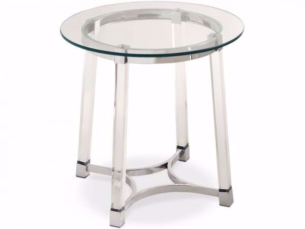 Picture of LUCINDA ROUND END TABLE