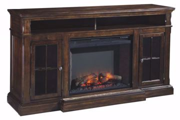 Picture of RODDINTON TV STAND WITH FIREPLACE INSERT